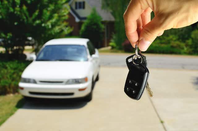 Subaru replacement key fob